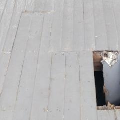 Original porch floor