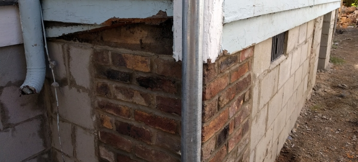 No more wood shims holding up the house