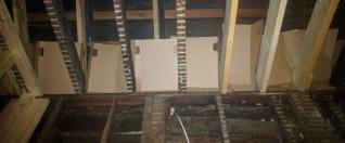 Cardboard insulation