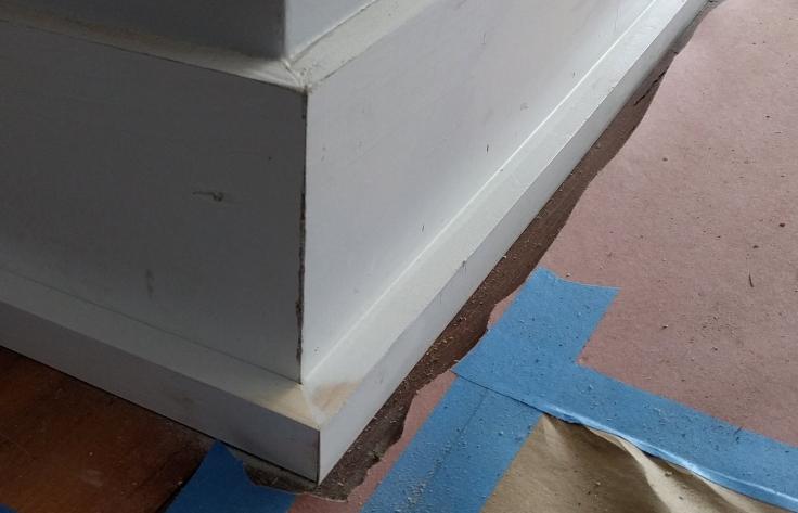 Base shoe molding