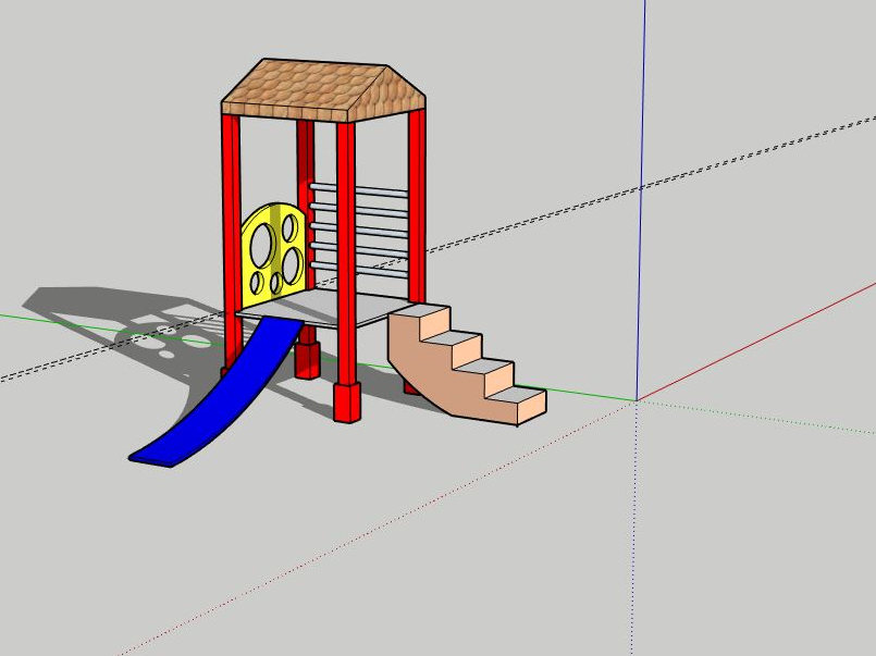 Playground Design in SketchUp