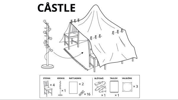 Castle Assembly Instructions