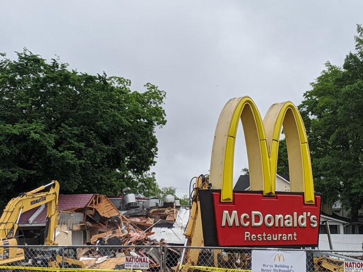 McDonald's renovation