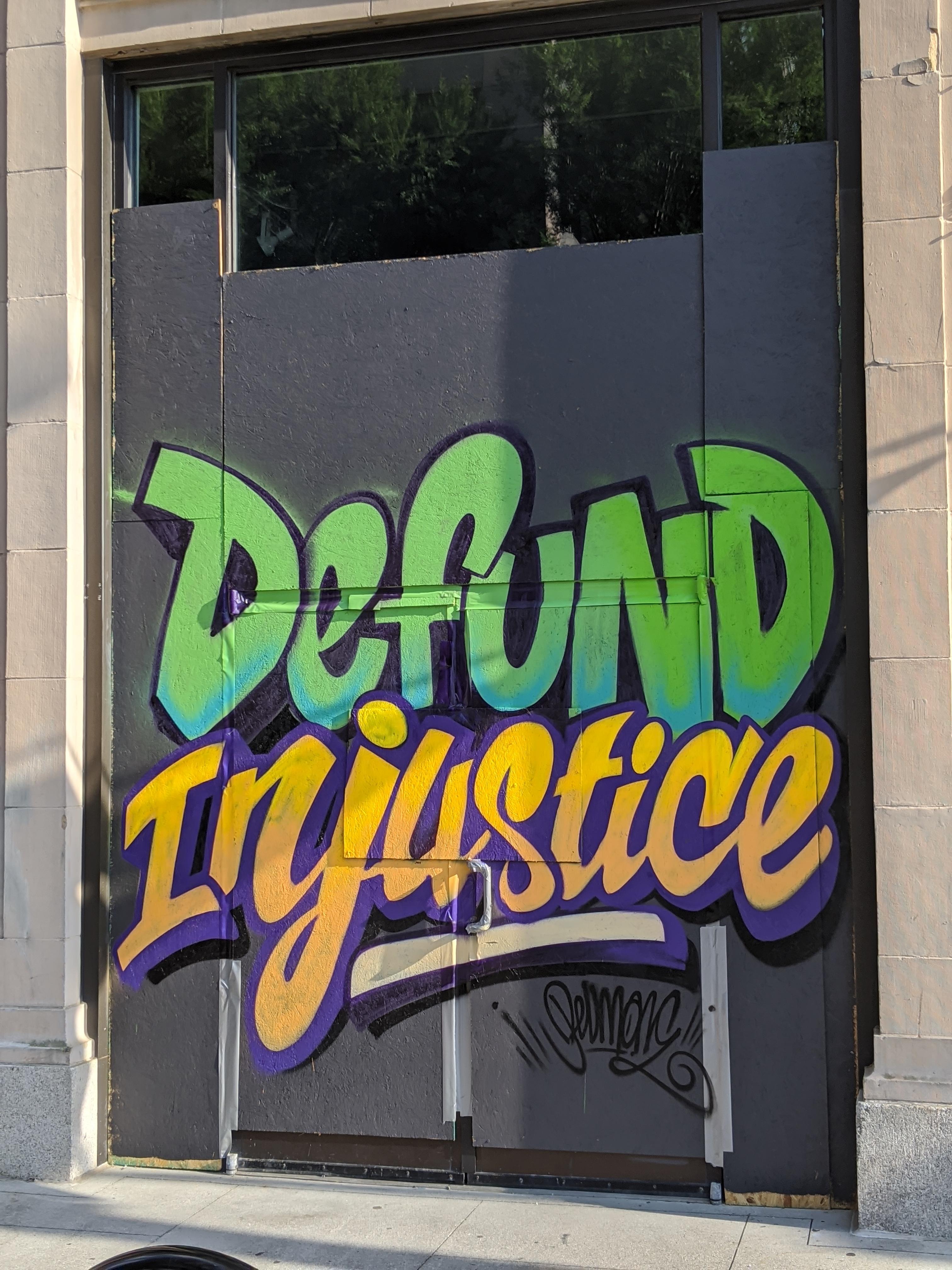 Defund Injustice