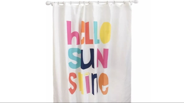 Hello Sun Shine Shower Curtain