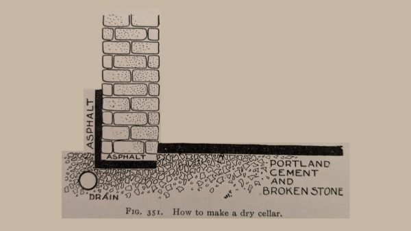 How to make a dry cellar