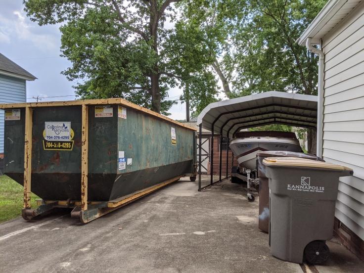 Giant dumpster