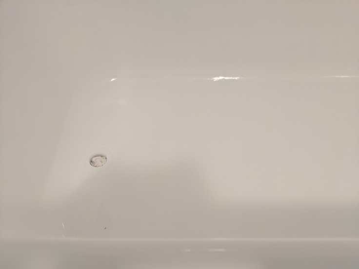 Reglazed tub