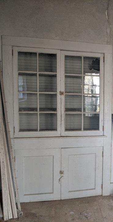 Smiley Cottage doors