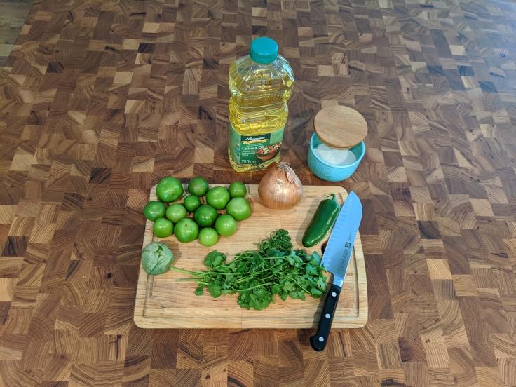 Roasted Tomatillo Salsa Ingredients